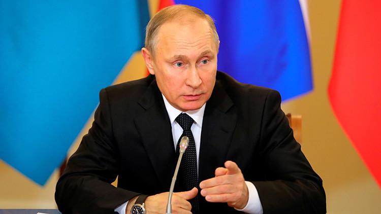 """Putin: """"Se han alcanzado acuerdos para el alto el fuego en Siria y futuras negociaciones de paz"""""""