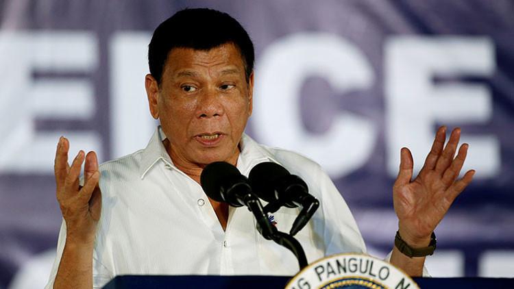 """Duterte: """"La mayoría de los embajadores de EE.UU. son espías de la CIA"""""""
