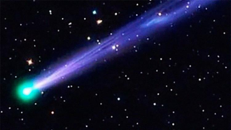 Despida 2016 'por todo lo alto': Un cometa iluminará la noche de Año Nuevo