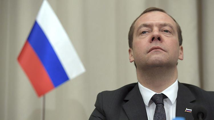 """Medvédev: """"Es triste que la Administración de Obama termine su Gobierno con una agonía antirrusa"""""""