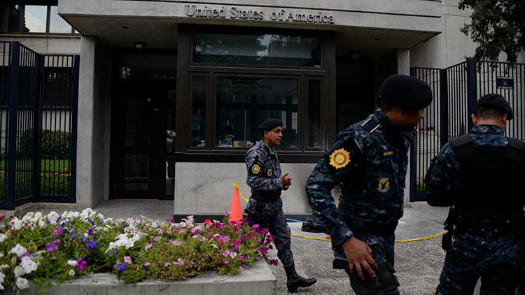 Cierran la Embajada de EE.UU. en Guatemala tras recibir una amenaza