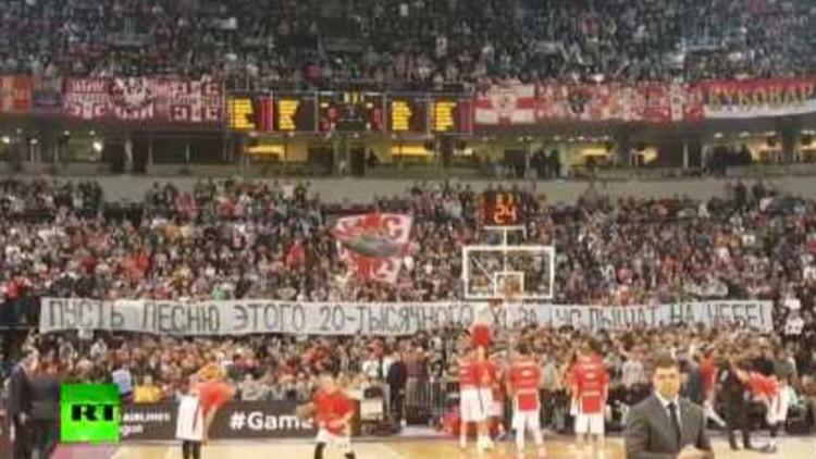 VIDEO: Miles de serbios cantan para rendir homenaje al Coro del Ejército Rojo