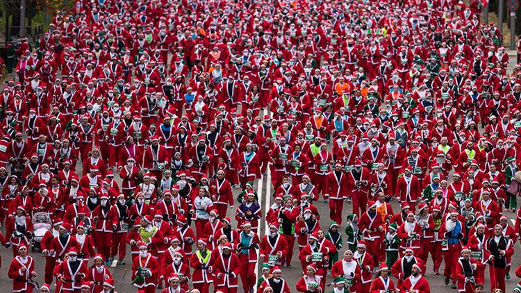 """Un director de orquesta hace llorar a los niños: """"Papa Noel no existe"""""""