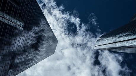 El parque empresarial Cuatro Torres Business Area (CTBA) en el barrio de La Paz de Madrid (España)