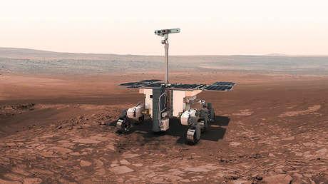 El rover de Exomars.