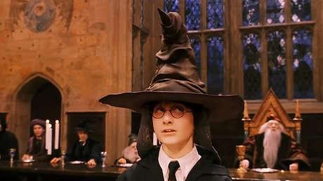 Escena de la película 'Harry Potter y la piedra filosofal'.