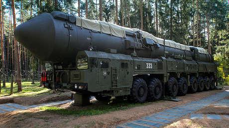 Misil balístico intercontinental ruso Yars.