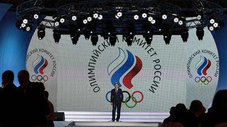 El presidente del Comité Olímpico Ruso, Alexánder Zhúkov