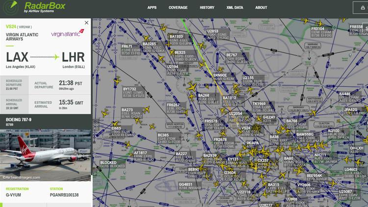 Un vuelo de Virgin entre Los Ángeles y Londres se declara en emergencia