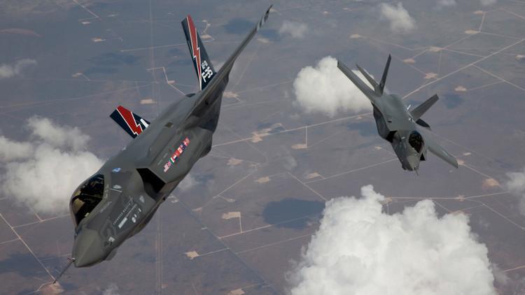 EE.UU. pone a punto sus cazas F-35 contra las defensas antiaéreas de Rusia y de China