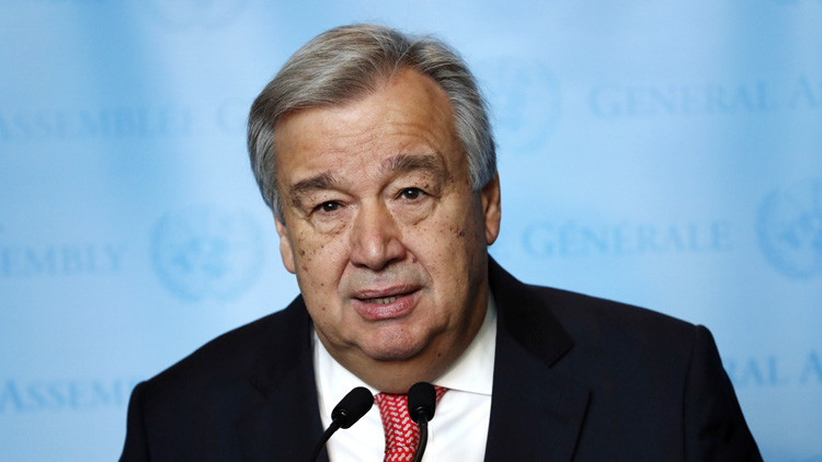 """António Guterres asume la Secretaría General de la ONU:  """"Hagamos que 2017 sea un año para la paz"""""""
