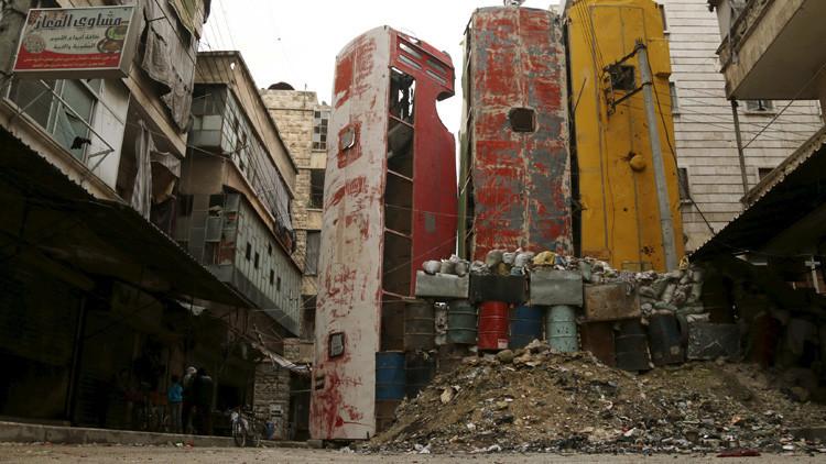 """Misión: levantar """"el potencial industrial"""" de Alepo"""