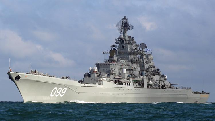 Rusia revela hacia dónde pondrán rumbo en 2017 los buques de su Flota del Norte