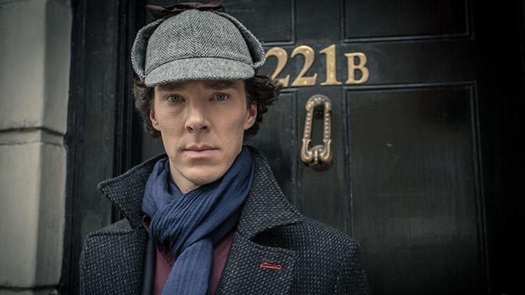 El actor Benedict Cumberbatch resultó ser pariente del creador de Sherlock Holmes