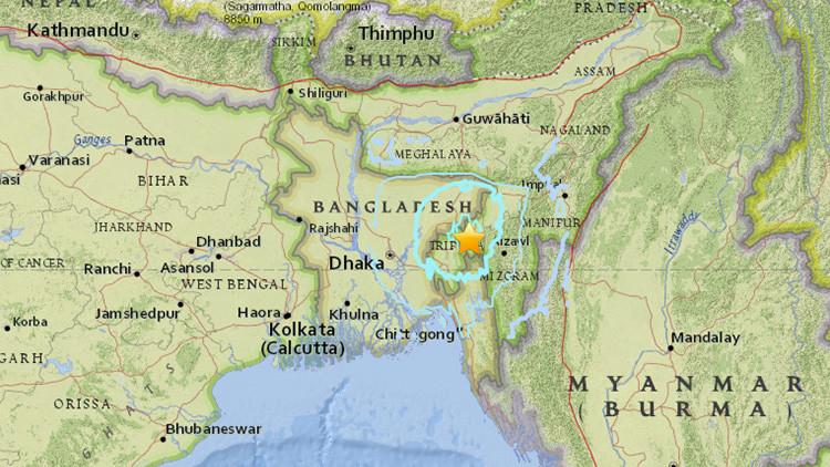Un sismo de magnitud 5,5 sacude India