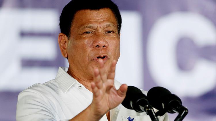 Duterte afirma que algunos de sus familiares son miembros del Estado Islámico