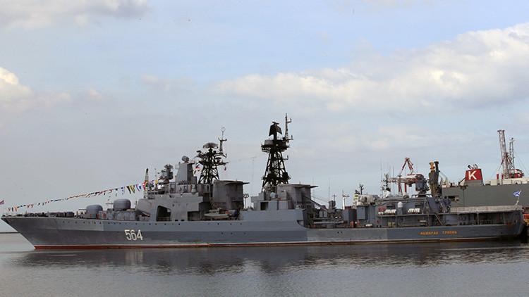 """Buques de guerra rusos realizan una """"visita de buena voluntad"""" a Filipinas"""