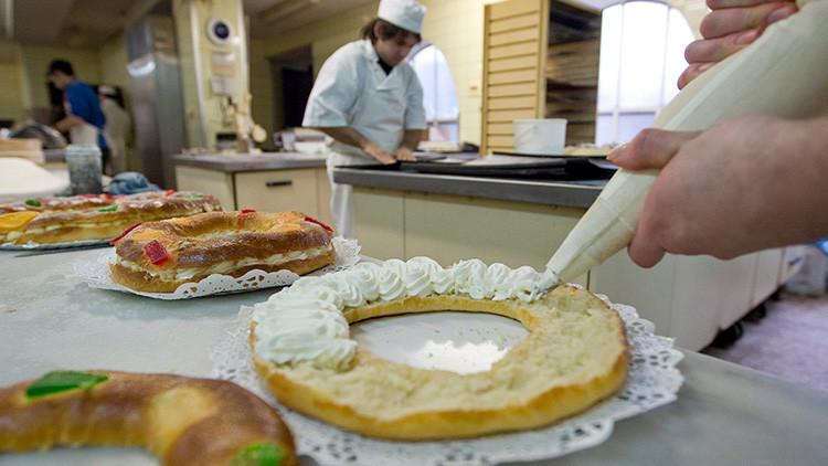 Una pastelería española introduce un diamante en uno de sus 20.000 roscones de reyes