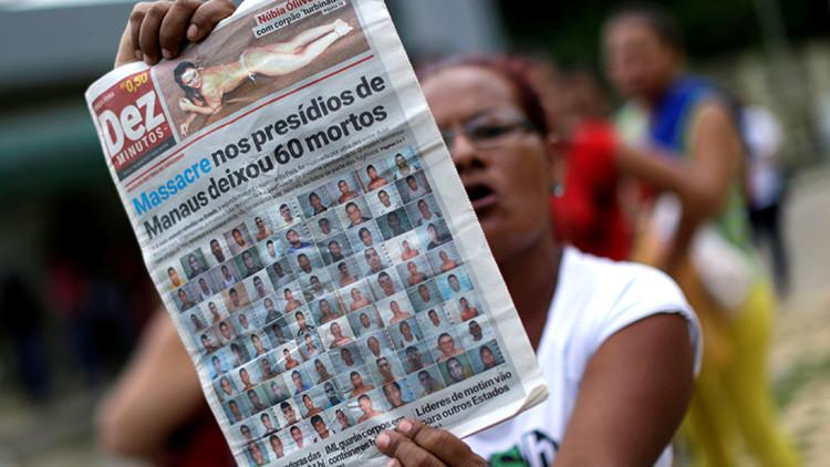¿Qué les espera a los líderes del motín carcelario que dejó 56 muertos en Brasil?