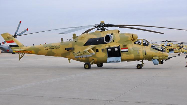 Un helicóptero militar se estrella en Irak