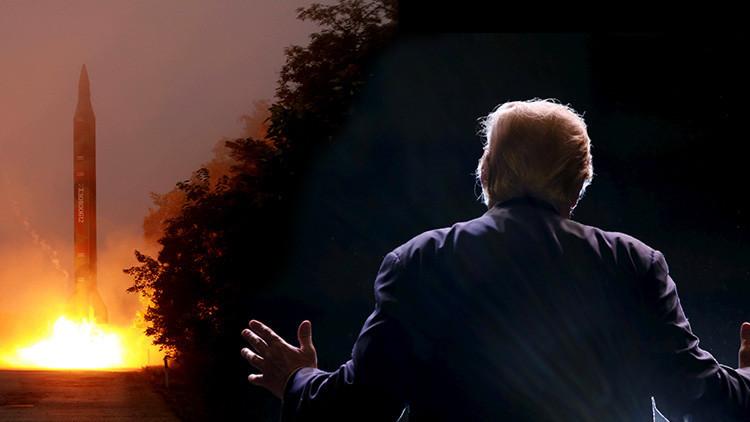 """Trump """"traza una línea roja"""" con su promesa sobre los misiles de Corea del Norte"""