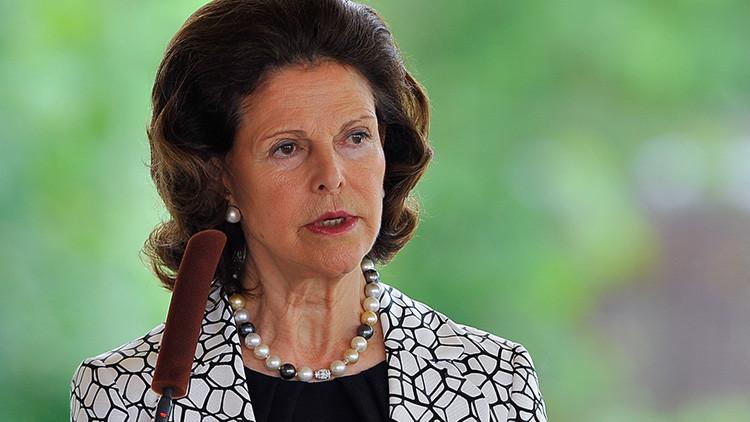 """La reina Silvia de Suecia: """"En el palacio real de Estocolmo habitan fantasmas"""""""