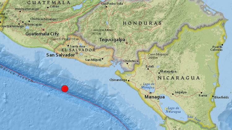Terremoto de magnitud 6,2 sacude El Salvador