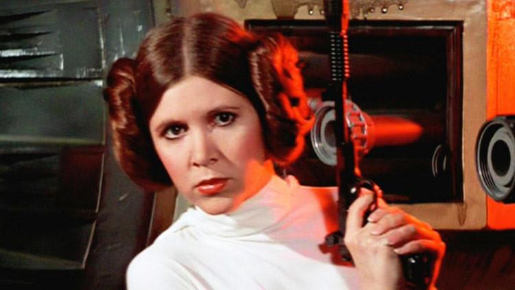 Fans de Carrie Fisher instan a convertir a Leia en una de las Princesas Disney