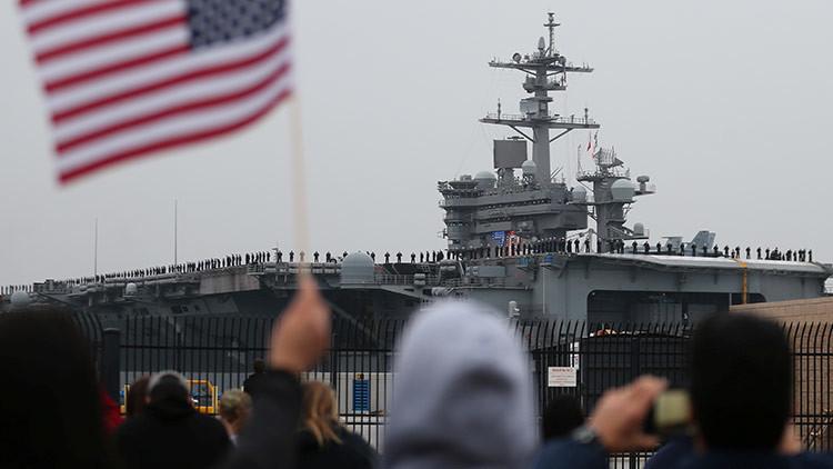 EE.UU. envía al Pacífico el portaaviones que 'enterró' a Bin Laden