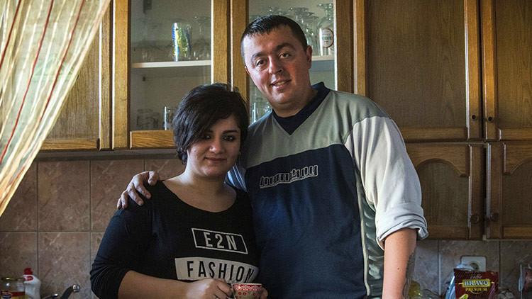 Amor sin fronteras: el romance entre una refugiada kurda y un policía fronterizo macedonio