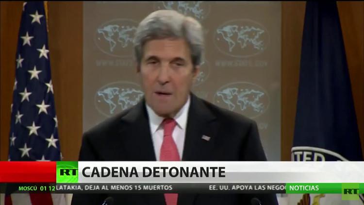 """Kerry: """"Alentamos el encuentro en Astaná sobre el conflicto en Siria"""""""