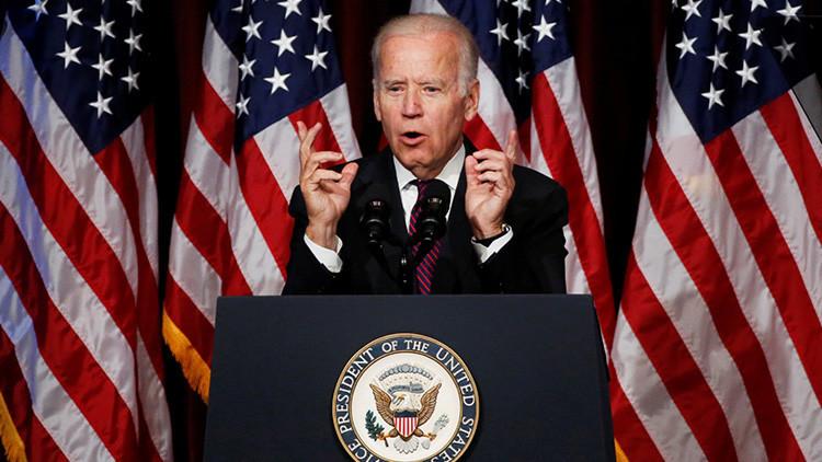 """El vicepresidente Biden a Trump: """"Madura, Donald"""""""