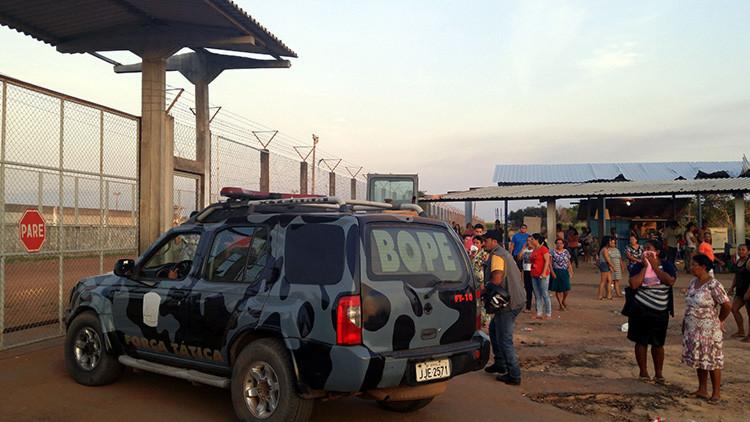 Mueren al menos 33 presos en un motín en una cárcel del norte de Brasil