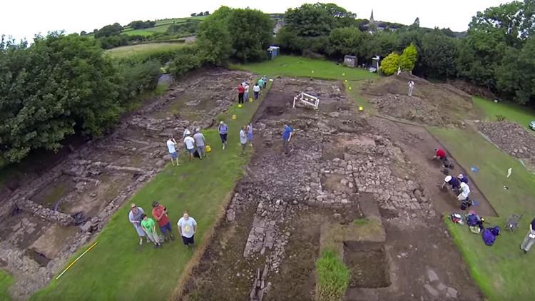 El misterio de Trellech: un británico compra una parcela y encuentra una ciudad medieval (video)