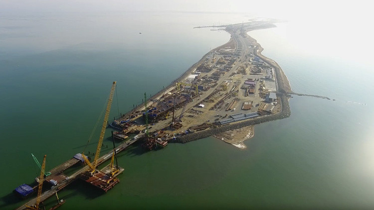 La construcción de la 'obra del siglo' avanza a pasos agigantados (Videos)