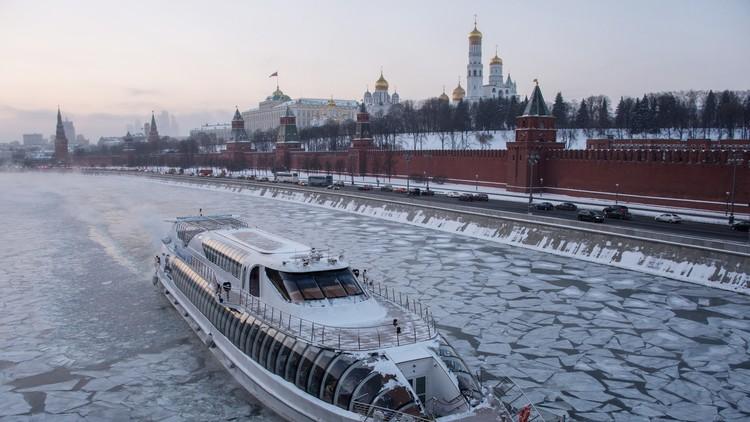 Un frío anómalo 'hace temblar' Moscú