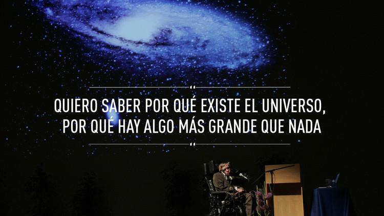 """""""La vida sería trágica si no fuese divertida"""": Stephen Hawking cumple 75 años"""