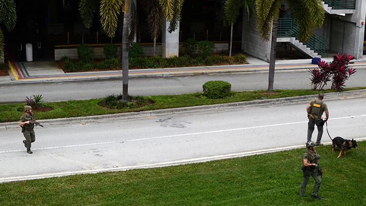 Publican video del momento exacto del inicio del tiroteo en el aeropuerto de Florida