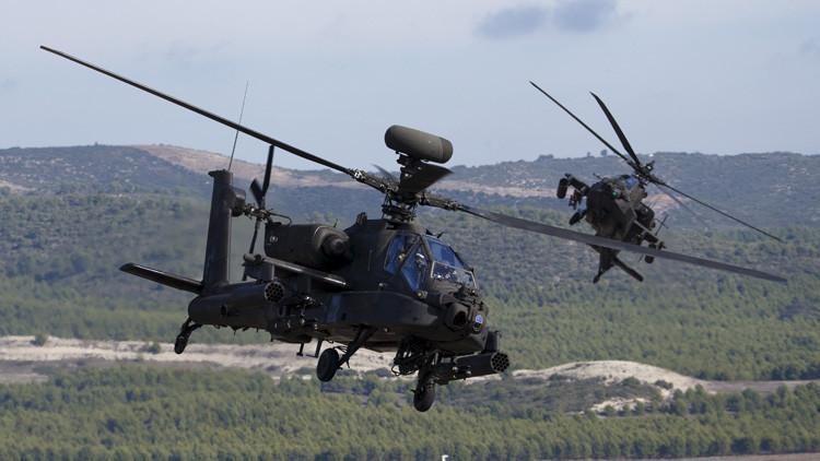 EE.UU. desplegará 24 helicópteros de ataque Apache en Corea de Sur