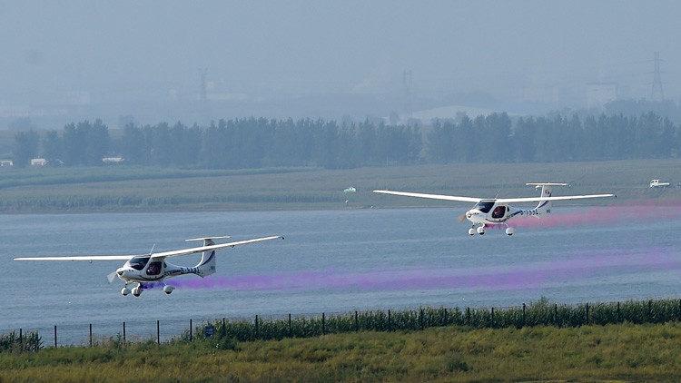 China prueba con éxito un avión impulsado por hidrógeno