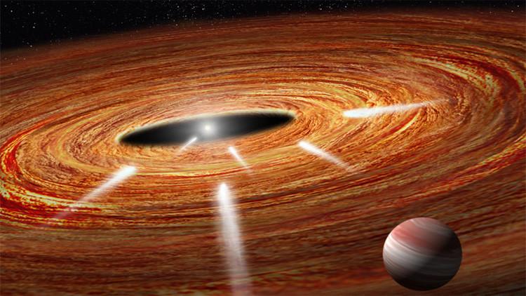 El telescopio Hubble detecta cometas 'suicidas' hundiéndose en una estrella cerca de la Tierra