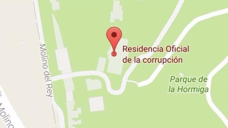 'Residencia oficial de la corrupción': 'Rebautizan' la casa del presidente de México en Google Maps