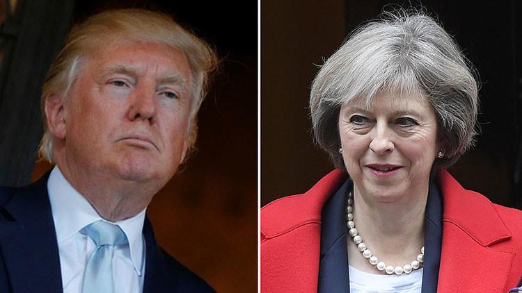 """""""¿Confianza?"""": La Embajada rusa en Londres se burla de las relaciones entre Reino Unido y EE.UU."""