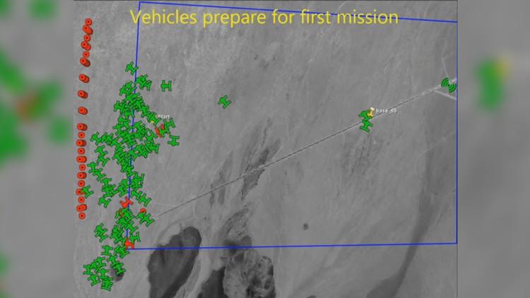 VIDEO: El Pentágono prueba con éxito el despliegue de una nube de drones