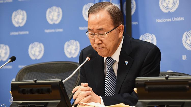 EE.UU. acusa a dos familiares de Ban Ki-moon de cohecho