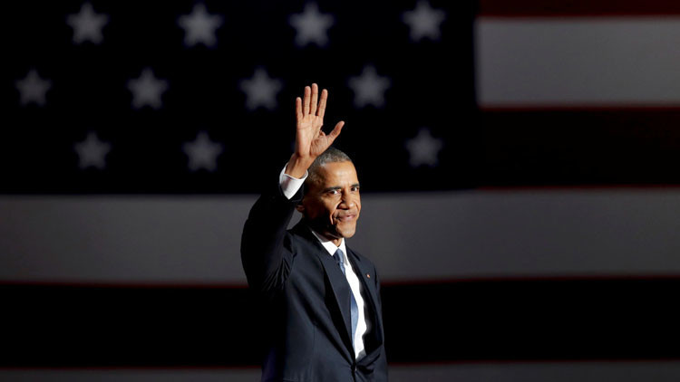 """La despedida de Obama: """"Rivales como Rusia y China no pueden igualar nuestra influencia en el mundo"""""""