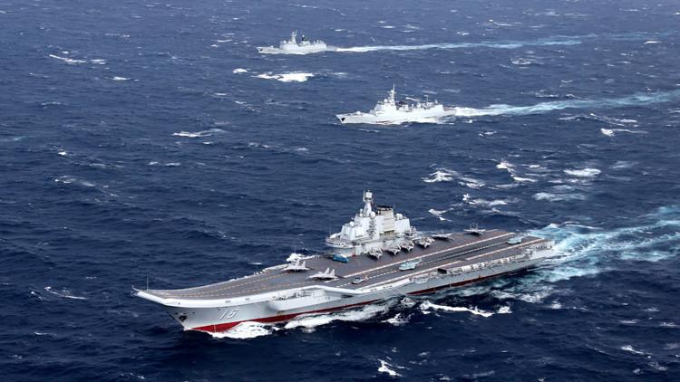 Taiwán envía sus buques y cazas de combate para interceptar al portaaviones chino Liaoning