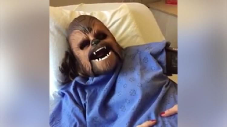 Chewbacca va a ser mamá