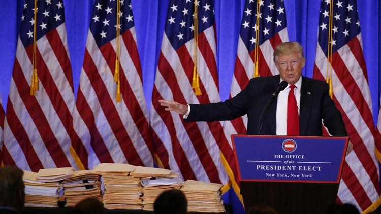 """Trump: """"¿Creen sinceramente que Hillary sería más dura con Putin que yo? Ya basta con eso"""""""