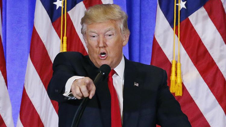 """Trump: """"CNN se está hundiendo totalmente, pronto no tendrán credibilidad"""""""